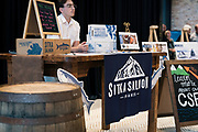 """""""Garver Gourmet"""" hosted by Sitka Salmon Shares at the newly opened Garver Feed Mill event space in Madison, Wisconsin, Saturday, Sept. 7, 2019."""