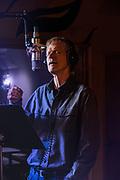 Matt Briggs  recording at Dead Aunt Thelmas.