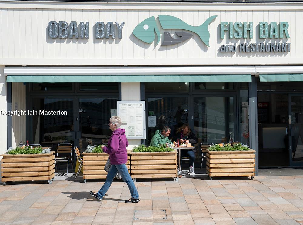 Seafood restaurant in Oban, Argyll and Bute, Scotland, united Kingdom