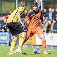 23-04-2016: Voetbal: Woudenberg v Montfoort: Woudenberg<br /> <br /> Joey van Ede van vv Montfoort<br /> <br /> Foto: Gertjan Kooij