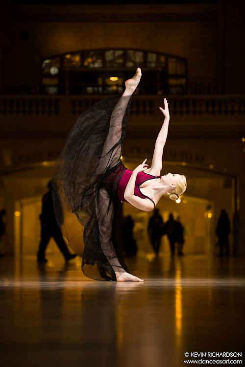 Dance As Art The New York Photography Project Grand Central Series with Alyssa Ness