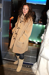 LEAH WOOD at a party to celebrate the opening of the Absolut Icebar London, 134 Heddon Street, London on 29th September 2005.<br /><br />NON EXCLUSIVE - WORLD RIGHTS