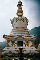 Jamchen Vijaya Stupa near Shivapuri Heights in Nepal.