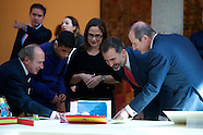 102714 King Felipe VI attends 'What is a King for you' winners