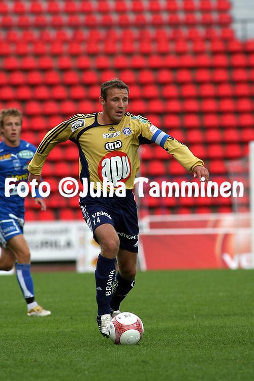 19.07.2006, Ratina, Tampere, Finland..Veikkausliiga 2006 - Finnish League 2006.Tampere United - HJK Helsinki.Mika Nurmela - HJK.©Juha Tamminen.....ARK:k