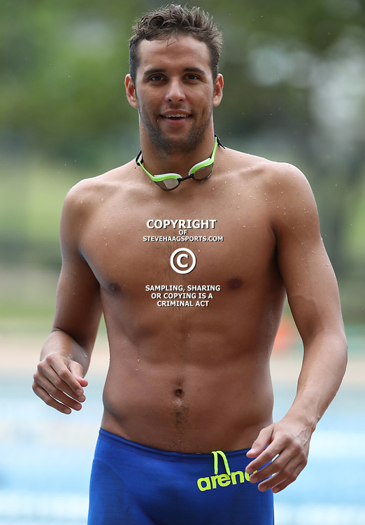 DURBAN, SOUTH AFRICA - FEBRUARY 05: Chad Le Clos during day 2 of The 2017 Grand Prix No.4 Invitational swimming meet at Kings Park Swimming Pool on February 05, 2017 in Durban, South Africa. (Photo by Steve Haag/Gallo Images)