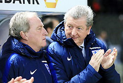 England Manager Roy Hodgson and coach Ray Lewington - Mandatory by-line: Matt McNulty/JMP - 26/03/2016 - FOOTBALL - Olympiastadion - Berlin, Germany - Germany v England - International Friendly