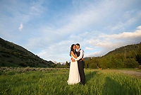 Teton Valley wedding - Monica Schwartz and George Josten