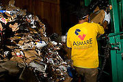 Belo Horizonte_MG, Brasil...Associacao de Catadores de Papel, Papelao e Material Reciclavel de Belo Horizonte...Association of Paper, Carton and Recycable Material Pickers, ASMARE. ..Foto: BRUNO MAGALHAES / NITRO
