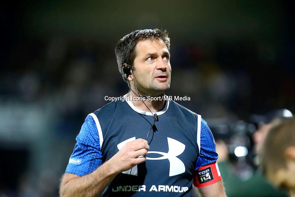 Franck Azema - 25.04.2015 - Castres / Clermont - 23eme journee de Top 14<br />Photo : Laurent Frezouls / Icon Sport