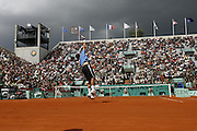 Roland Garros. Paris, France. May 31st 2006..Federer against Falla during the 2nd tour of the tennis french open.