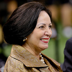 Aug 30, 2015; New Orleans, LA, USA; New Orleans Saints owner Gayle Benson before a preseason game against the Houston Texans at the Mercedes-Benz Superdome. Mandatory Credit: Derick E. Hingle-USA TODAY Sports