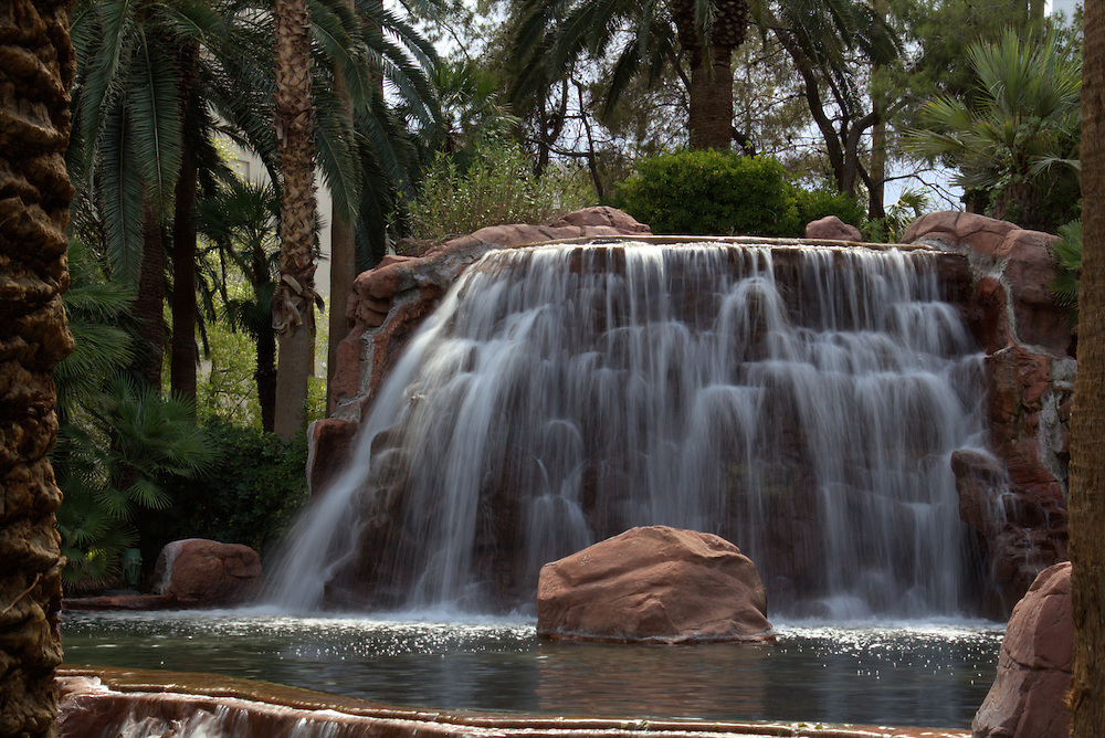 Time lapse waterfall