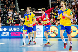 Niclas Ekberg (SWE) during handball match between National teams of Spain and Sweden in Final match of Men's EHF EURO 2018, on January 28, 2018 in Arena Zagreb, Zagreb, Croatia . Photo by Ziga Zupan / Sportida
