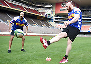 WWE superstar Shaemus and Cesaro visited the Stomers at Newlands - 19 Apr 2018