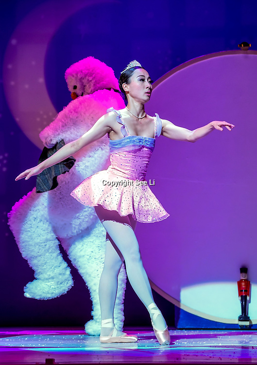 London,England,UK: 23rd Nov 2016: Photocall: The Snowman returns to The Peacock this Christmas from 23rd November 2016 - Sunday 1 Janiary 2017, with its wonderful mix of storytelling, spectacle and magic at The Peacock Theatre, London,UK. Photo by See Li