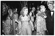 Rosekrans Ball, San Francisco, Clarisa Benecke, Joanna Kruttke,1996© Copyright Photograph by Dafydd Jones 66 Stockwell Park Rd. London SW9 0DA Tel 020 7733 0108 www.dafjones.com