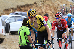 Robert Gesink (NED) Team Jumbo-Visma on the final Cat 1 climb up to Observatorio Astrofisico de Javalambre during Stage 5 of La Vuelta 2019 running 170.7km from L'Eliana to Observatorio Astrofisico de Javalambre, Spain. 28th August 2019.<br /> Picture: Eoin Clarke | Cyclefile<br /> <br /> All photos usage must carry mandatory copyright credit (© Cyclefile | Eoin Clarke)