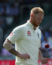 July 7, 2017 - London, United Kingdom - England's Ben Stokes .during 1st Investec Test Match between England and South Africa at Lord's Cricket Ground in London on July 07, 2017  (Credit Image: © Kieran Galvin/NurPhoto via ZUMA Press)
