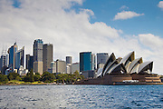 Sydney Opera House and skyline, Australia