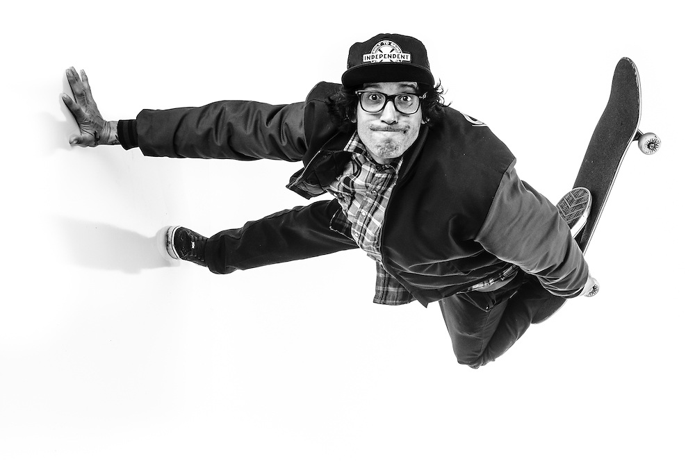 Darren Navarrette, pro skateboarder