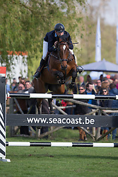 Fredricson Peder, (SWE), H&M Flip s Little Sparroz <br /> Furusiyya FEI Nations Cup of Belgium<br /> Longines Spring Classic of Flanders - Lummen 2015<br /> © Hippo Foto - Leanjo de Koster<br /> 01/05/15