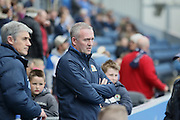 Blackburn Rovers Manager Paul Lambert during the Sky Bet Championship match between Blackburn Rovers and Bristol City at Ewood Park, Blackburn, England on 23 April 2016. Photo by Pete Burns.