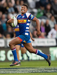 Stormers' Damian Willemse runs in to score a try against the Highlanders in the Super Rugby match, Forsyth Barr Stadium, Dunedin, New Zealand, Friday, March 9, 2018. Credit:SNPA / Adam Binns ** NO ARCHIVING**