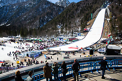Spectators at the Ski Flying Hill Individual Competition at Day 2 of FIS Ski Jumping World Cup Final 2019, on March 22, 2019 in Planica, Slovenia.  Photo by Matic Ritonja / Sportida