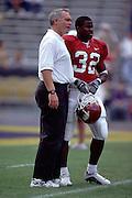 University of Arkansas Football Coaches during the 2001-2002 Season.
