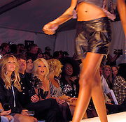 Heather Locklear, Richie Sambora and Nikki Lund..Los Angeles Fashion Week Spring/Summer 2011- WTB Collection..White Trash Beautiful Fashion Show by Richie Sambora and Nikki Lund.