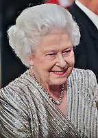 LONDON - November 19: Queen Elizabeth II arriving at the Royal Variety Performance (Photo by Brett D. Cove)