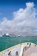 Cruise Ships,Port of Miami,  Dodge Island,  Miami, Florida, Intracoastal Waterway, USA