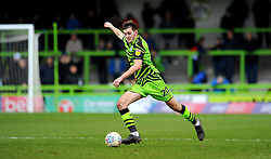 Liam Kitching of Forest Green Rovers in action- Mandatory by-line: Nizaam Jones/JMP - 08/02/2020 - FOOTBALL - New Lawn Stadium - Nailsworth, England - Forest Green Rovers v Walsall - Sky Bet League Two