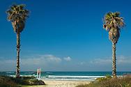 Maagan michael beach entrance