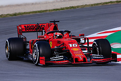 February 19, 2019 - Montmelo, BARCELONA, Spain - Charles Leclerc from Monaco with 16 of Scuderia Ferrari Mission Winnow SF90 in action during the Formula 1 2019 Pre-Season Tests at Circuit de Barcelona - Catalunya in Montmelo, Spain on February 19. (Credit Image: © AFP7 via ZUMA Wire)