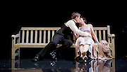 Waste <br /> by Harley Granville Barker<br /> at the Lyttelton Theatre, NT, Southbank, London, Great Britain <br /> 9th November 2015 <br /> <br /> Charles Edwards as Henry Trebell<br /> Olivia Williams as Amy O'Connell<br /> <br /> Photograph by Elliott Franks <br /> Image licensed to Elliott Franks Photography Services