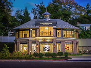 Front Elevation - 1292 Post Rd - Darien, CT by Robert A. Cardello Architects