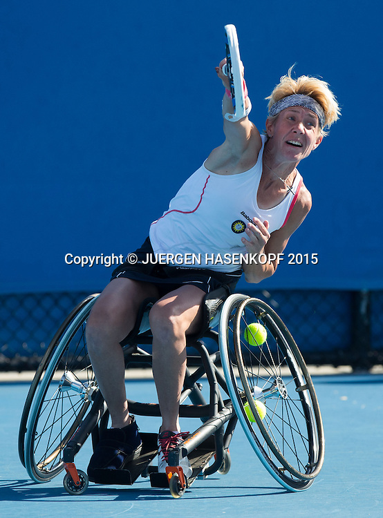 Sabine Ellerbrock (GER)<br /> <br /> Tennis - Australian Open 2015 - Grand Slam ATP / WTA -  Melbourne Olympic Park - Melbourne - Victoria - Australia  - 28 January 2015.