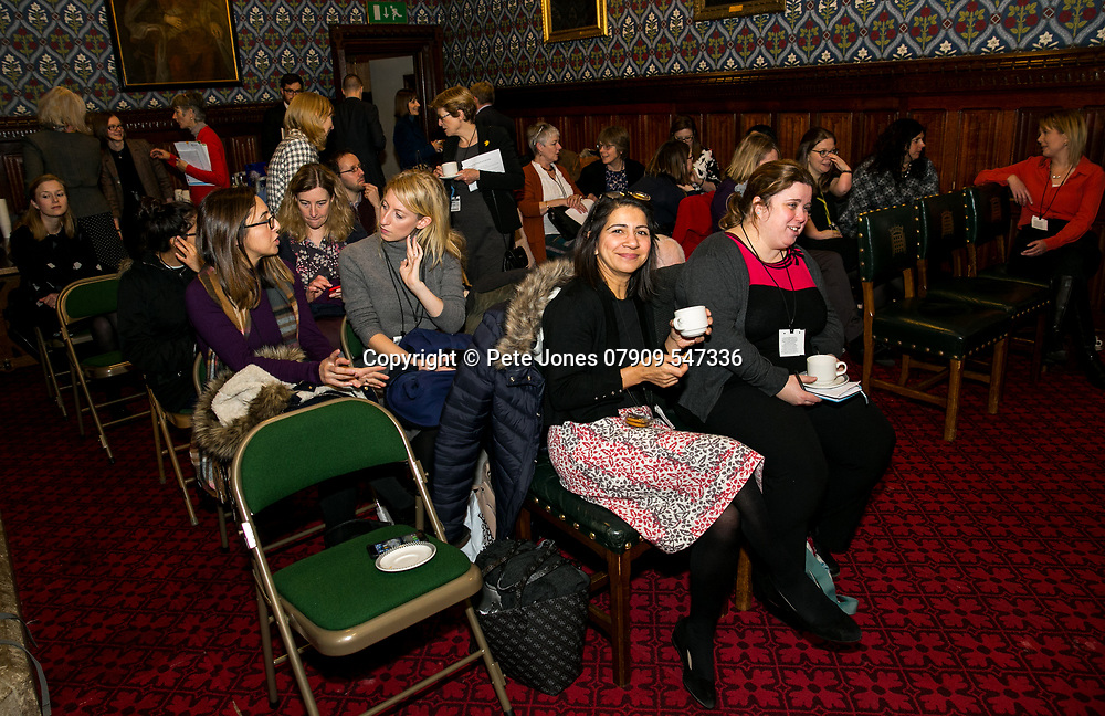 "Marie Curie Event;<br /> ""Dementia and end of Life"" Dr Liz Sampson;<br /> Jubilee Room, House of Commons;<br /> 17th January 2018.<br /> <br /> © Pete Jones<br /> pete@pjproductions.co.uk"