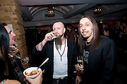 MEMBERS OF Lacuna Coil , Kerrang Awards 2009. Whitbread Brewery. Chiswell st. London. 3 August 2009.