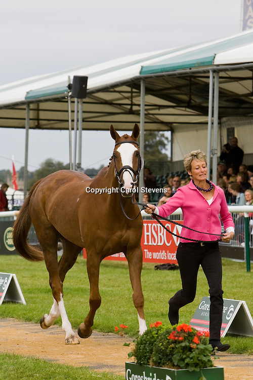 Mary King and Apache Sauce at Burghley Horse Trials 2009