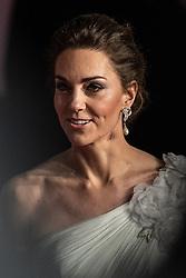 Catherine Duchess of Cambridge attending 72nd British Academy Film Awards, Arrivals, Royal Albert Hall, London. 10th February 2019