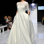 Coya Collection at White Gallery at London Bridal Fashion Week at London Excel on 25 March 2019, UK.