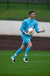 Annan Athletic's Alex Mitchell..Berwick Rangers 0 v 1 Annan Athletic, 1/10/2011..Pic © Michael Schofield.