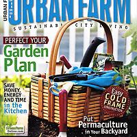 Cover for Urban Farm magazine: January/February 2011 issue