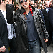 Bruce Springsteen leaves Claridges Hotel in London on Saturday May31st to play his second concert at the Emerates Stadium.