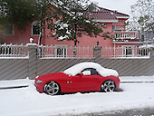 First snow, Beijing, 4 November 2012