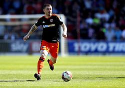 John Fleck of Sheffield United runs with the ball - Mandatory by-line: Robbie Stephenson/JMP - 08/04/2017 - FOOTBALL - Sixfields Stadium - Northampton, England - Northampton Town v Sheffield United - Sky Bet League One