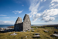 St. Benan's Church, Inishmore, Connemara, Ireland